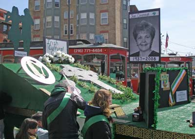 Cleveland Feis Society Float