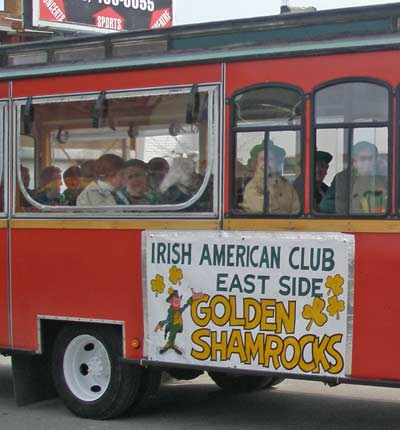 Golden Shamrocks of the East Side Irish American Club
