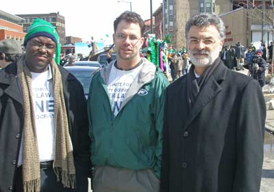 Cleveland Mayor Frank Jackson at the parade