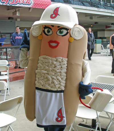 Cleveland Indians Onion mascot