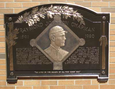 Ray Chapman tribute (recently discovered!)