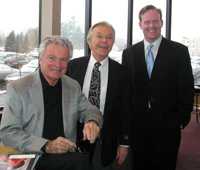 Don Webster, Dick Goddard and Mark Nolan