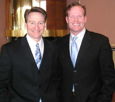 Mark Johnson and Mark Nolan