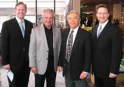 Mark Nolan, Don Webster, Dick Goddard and Mark Johnson