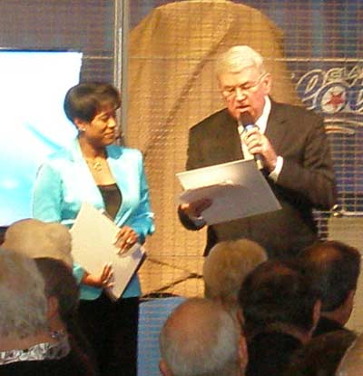 WEWS Anchors Danita Harris and Ted Henry