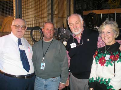 Don Unger, Jim Lentz, Lee and Mary Bailey
