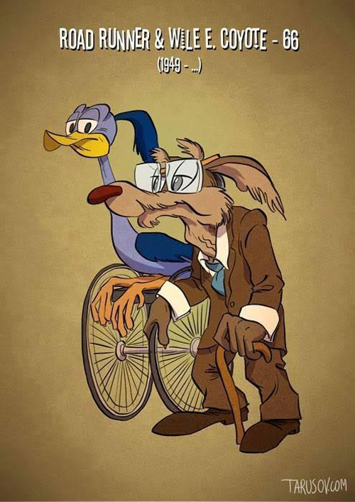 Roadrunner and Wile E. Coyote