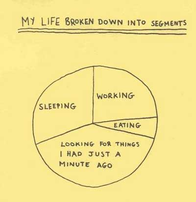 My life in segments