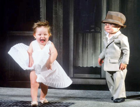 babies as Marilyn Monroe movie