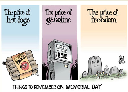 Memorial Day prices comic