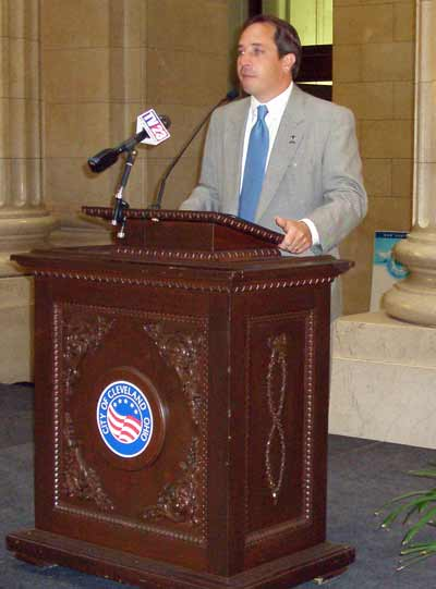 Cleveland City Councilman Matt Zone