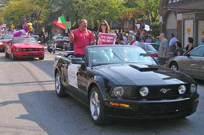 Columbus Day Parade Grand Marshall Bob DiBiasio