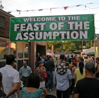 Welcome to the Feast of the Assumption - Cleveland 2008