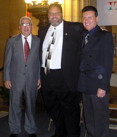 Biagio Parente, Jimmy Dimora and Basil Russo