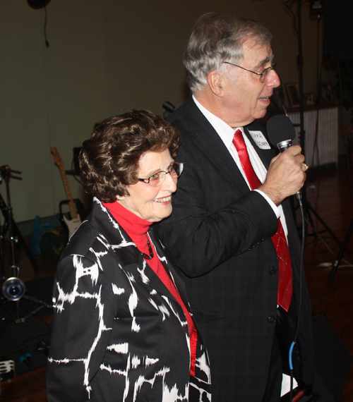 Alida Struze and Joe Meissner
