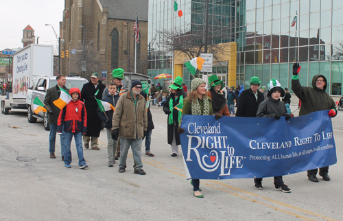 Right to Life marchers