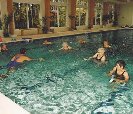 Swim Class at Kendal at Oberlin