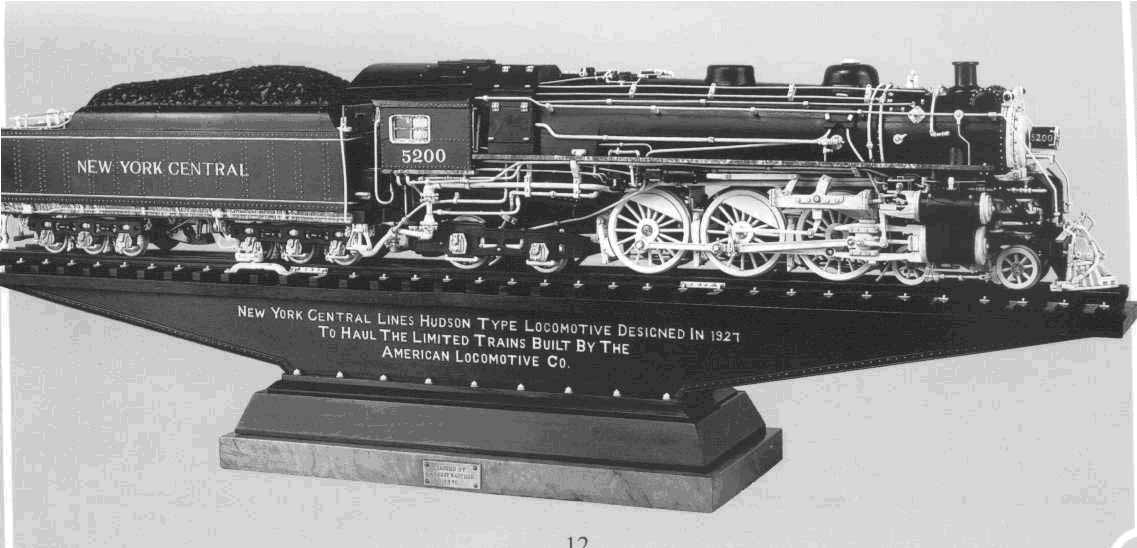 Warther carving of the New York Central