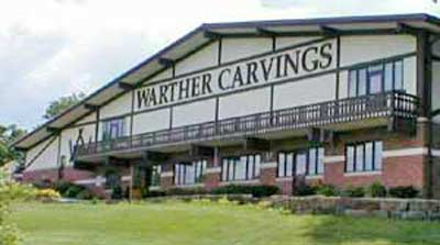 Warther Carvings Building in Dover, OH