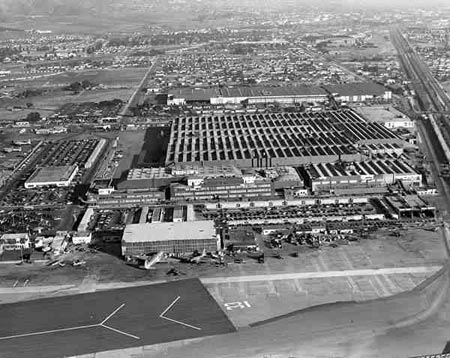 World War II Lockheed Burbank Aircraft Plant