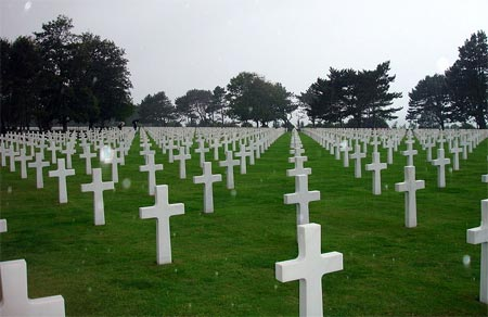 American graves at Normandy