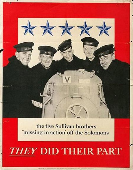 Sullivan Brothers - World War II Posters from the Greatest Generation