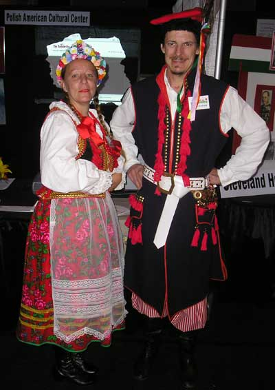 Beth Dane and Henry Cameron of the Polish American Cultural Center