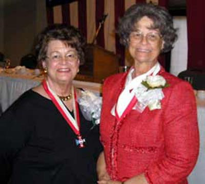 Mercedes Spotts and sister Diane Karpinski