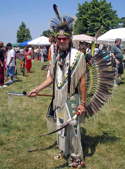 Cleveland Powwow Indian full regalia