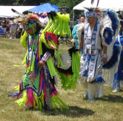The Native American Grand Entry at the Cleveland Powwow