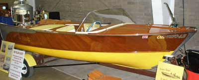 1959 Yellow Jacket Capri boat owned by Roy Rogers