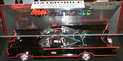 Scale Model of the Batmobile
