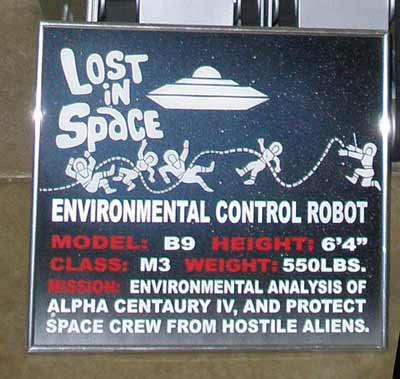 Lost in Space Robot details