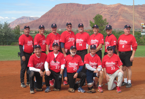 Mississauga (Ontario) Legends 65's Senior Softball team