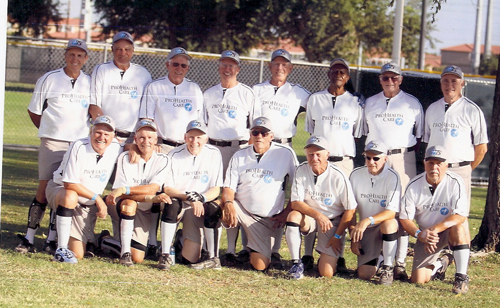 ProHealth Care 75's Senior Softball Team