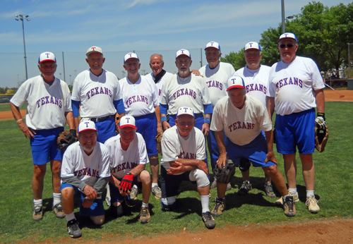 Texans 75's Senior Softball Team