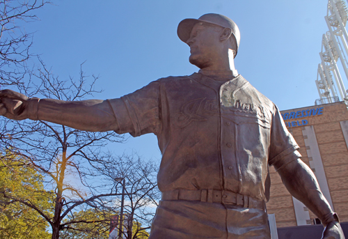 Jim Thome statue in Cleveland