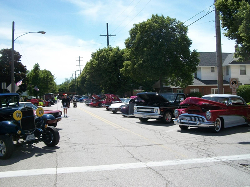 Conneaut car show