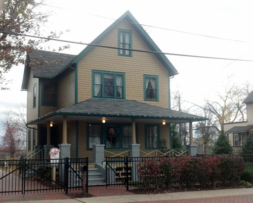 Christmas Story House in Cleveland
