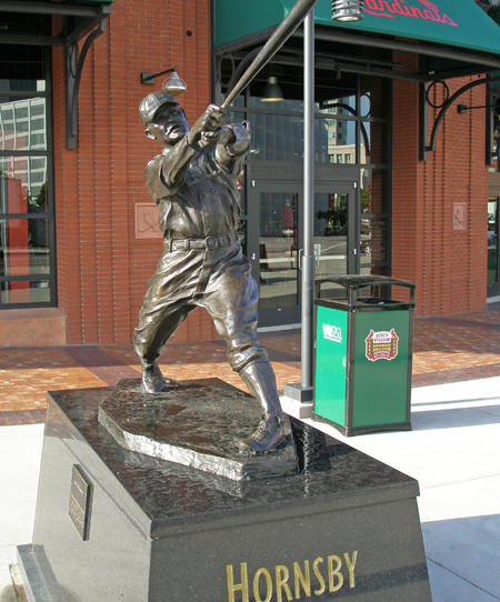 St Louis Cardinal Rogers Hornsby