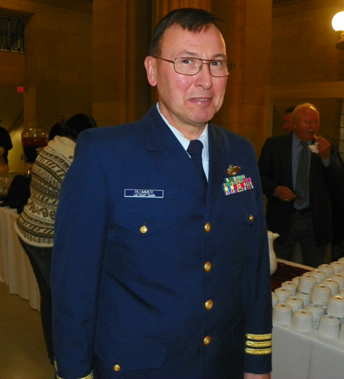 Commander Jeffrey S. Plummer, US Navy Chaplain, US Coast Guard Ninth District