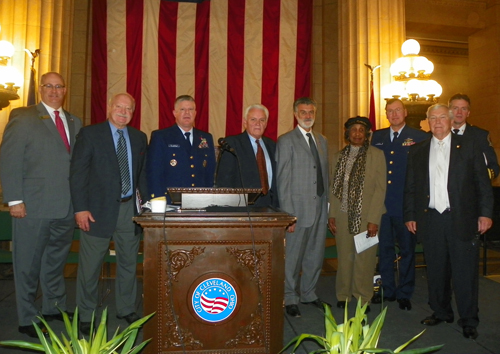 Veterans Day Honorees and Speakers