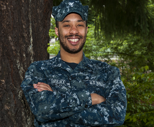 Petty Officer 3rd Class Lawrence Matejka