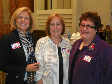 Diana Chrien, Pam Lange and Lucy Stickan