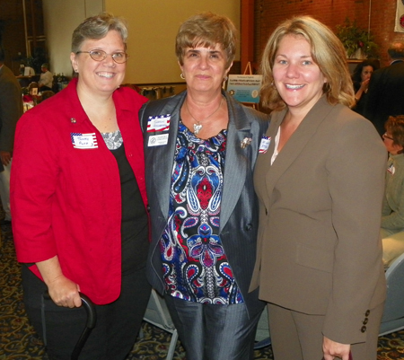 Tammy Puff, Sharon Gingerich and Michelle Stys