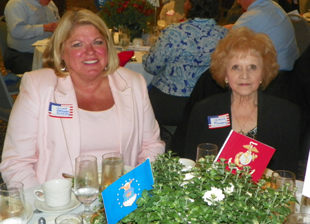 Judge Kathleen Satula and Irene Morrow