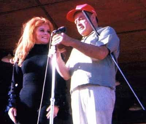 Ann Margret and Bob Hope