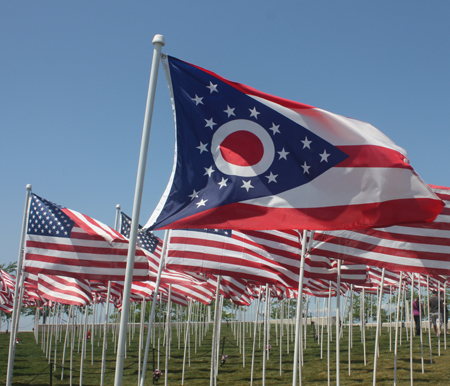 State of Ohio Flag