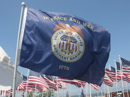 US Merchant Marine Flag