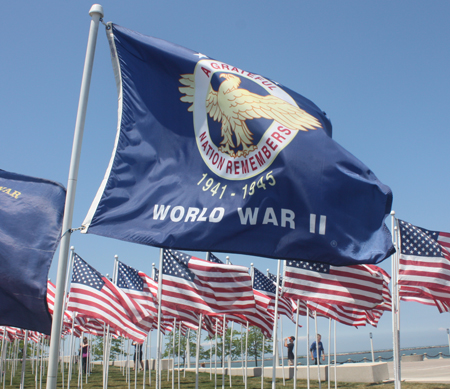 World War II Veterans Flag